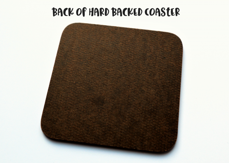 Hard Back Coaster