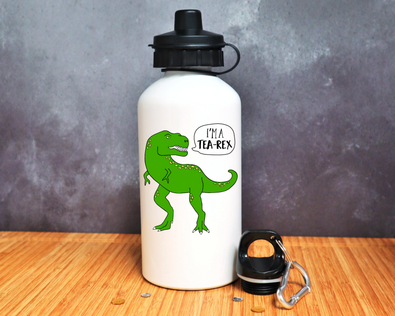 I'm A Tea Rex Water Bottle Gifting Moon