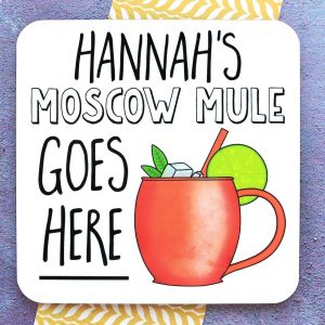 Moscow Mule Coaster Gifting Moon