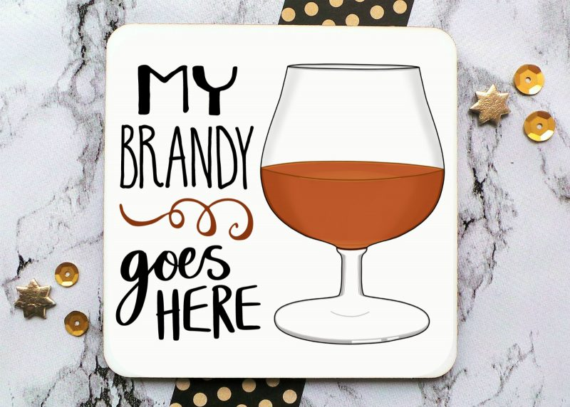 My Brandy Coaster Gifting Moon