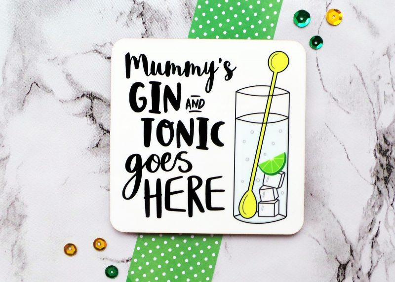 Gin And Tonic Coaster Gifting Moon 2