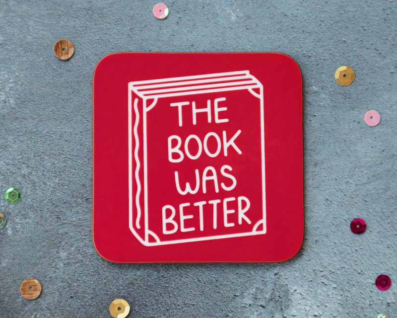 The Book Was Better Red