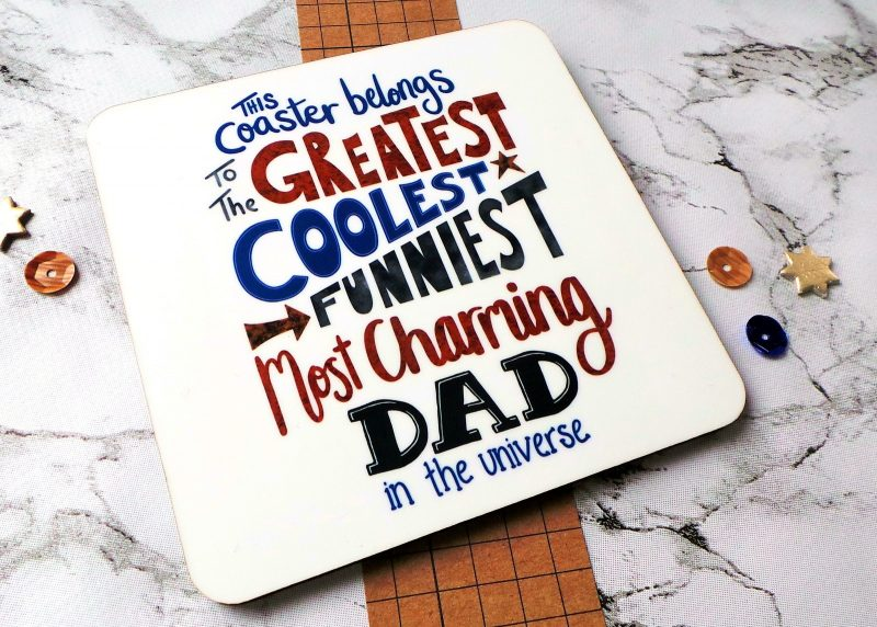 The Greatest Dad Coaster 2 at Gifting Moon