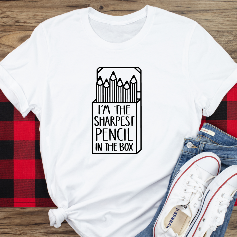 I'm The Sharpest Pencil In The Box Square T Shirt Gifting Moon-01